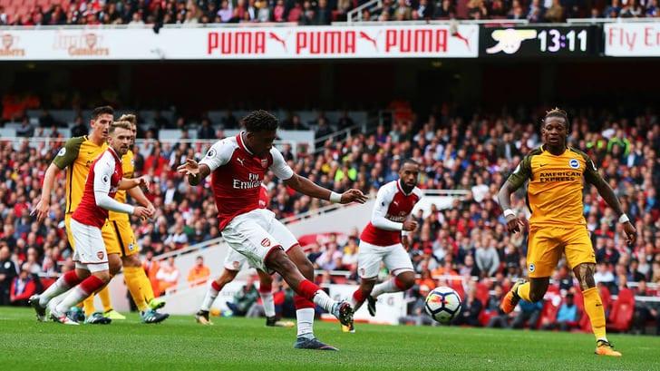 «Арсенал» обыграл «Брайтон» вматче чемпионата Британии пофутболу