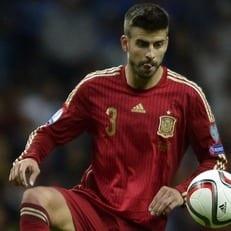 Пике освистали на тренировке сборной Испании