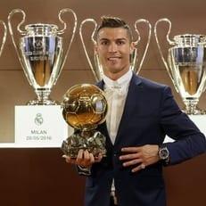 Роналду продал Золотой мяч на благотворительном аукционе