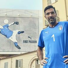 Буффон показал новую форму сборной Италии