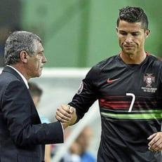 Сантуш объяснил отсутствие Роналду в стартовом составе на матч с Андоррой