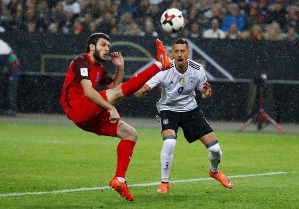 Сборная Германии пофутболу впервый раз выиграла все матчи вотборочном турниреЧМ