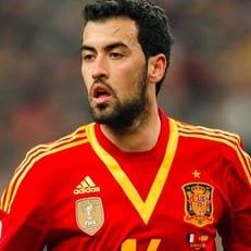 Бускетс сыграл 100 матчей в составе сборной Испании