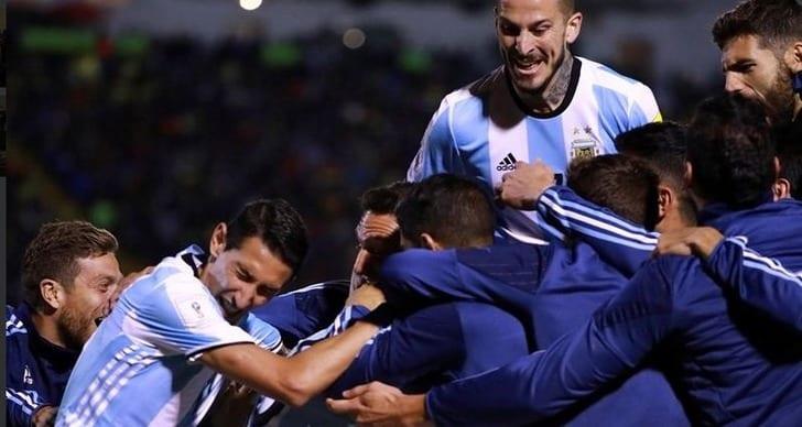 Twitter сборной Аргентины