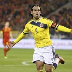 Фалькао договорился на ничью во время матча с Перу