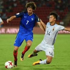 ЧМ U-17: Франция обыграла Японию, Англия одолела Мексику