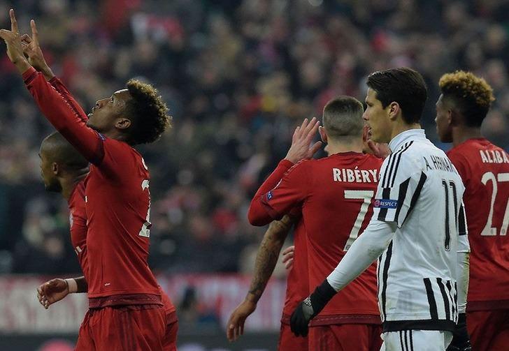 """""""Бавария"""" отмечает гол в ворота """"Ювентуса"""", Getty Images"""