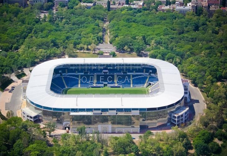 "Стадион ""Черноморец"", фото из сообщества ""Черноморца"""