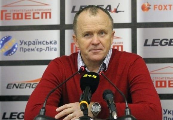Дулуб признан лучшим тренером 12-го тура чемпионата государства Украины