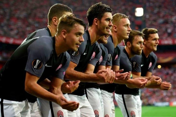 «Заря» обыграла берлинскую «Герту» вматче Лиги Европы