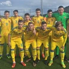 Украина U-16 минимально уступила Италии