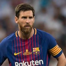 Месси забил свой сотый мяч в Лиге чемпионов
