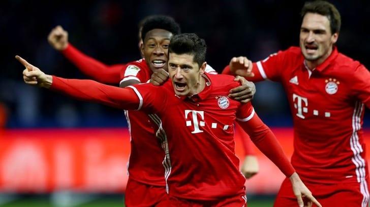 Бавария получила рекордный заработок засезон 2016/17