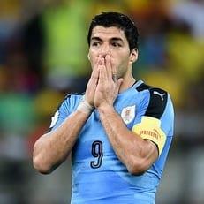 Уругвай обойдётся в матчах с Польшей и Австрией без Луиса Суареса