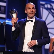 Зидан – лучший тренер года по версии ФИФА