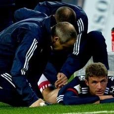 Мюллер пропустит 3 недели из-за травмы