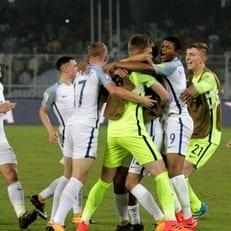 Англия (U-17) вышла в финал ЧМ-2017