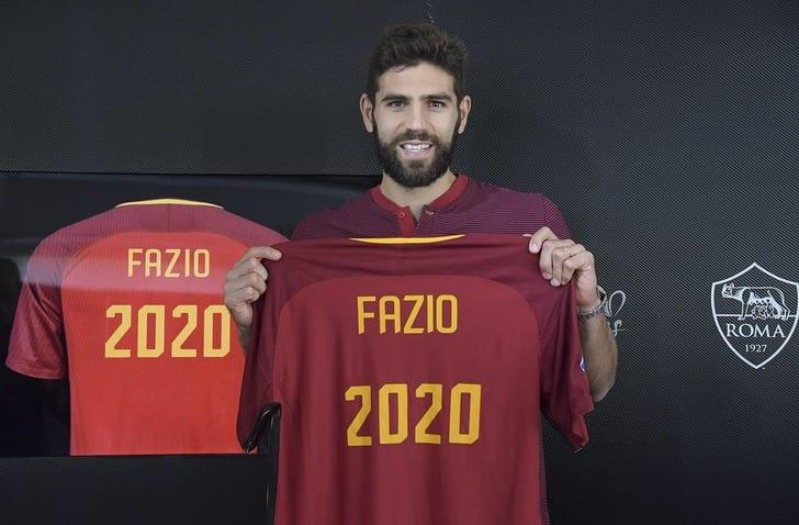 Фасио обновил договор с«Ромой»