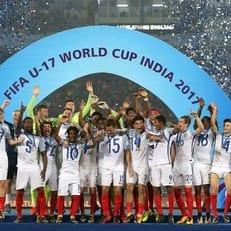Сборная Англии - победитель ЧМ-2017 U-17