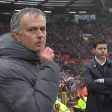"""Моуриньо растолковал жест, показанный в камеру после игры против """"Тоттенхэма"""""""