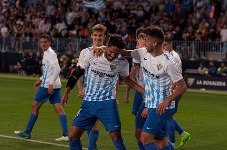 «Малага» одержала первую всезоне победу вчемпионате Испании, обыграв «Сельту»
