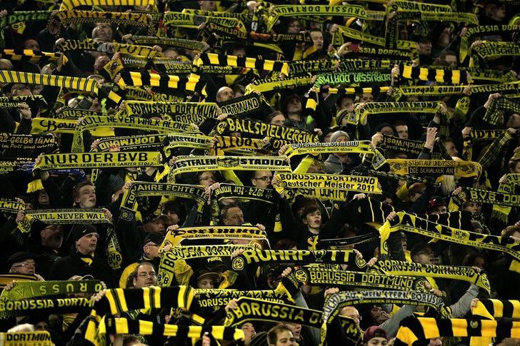 """Фанаты """"Боруссии Дортмунд"""" / Фото: Getty Images"""