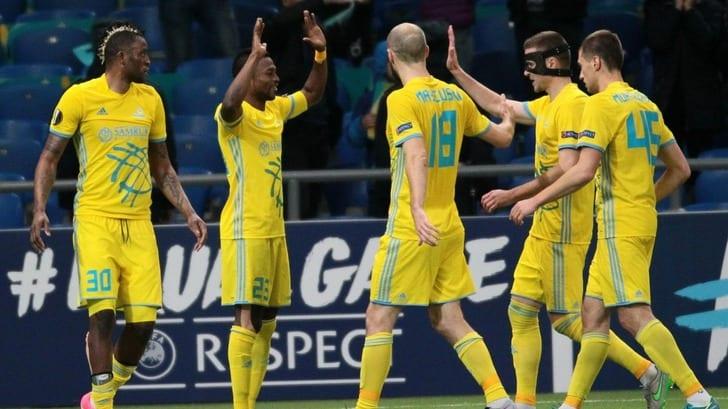 «Астана» в четвертый раз подряд стала чемпионом Казахстана