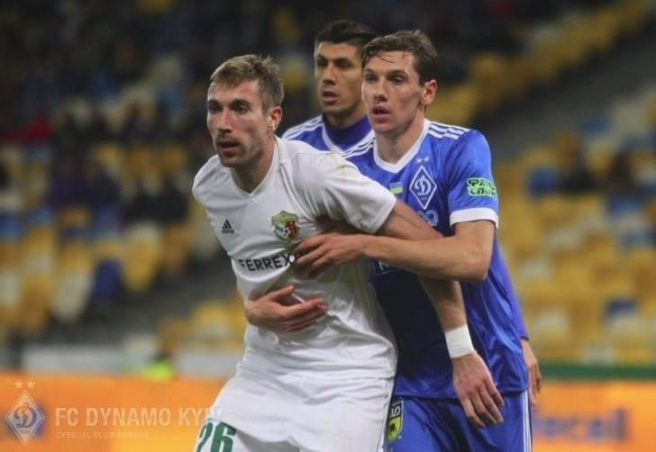 «Динамо» достигает первой победы задва месяца в тяжелом поединке с«Ворсклой»