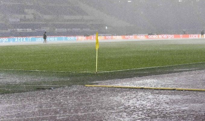Матч «Лацио»— «Удинезе» перенесен из-за дождя