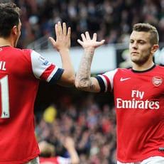 """Озил может остаться в """"Арсенале"""", если получит футболку с номером Уилшира"""