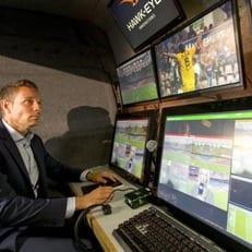 На матче Англия - Германия будет использоваться система VAR