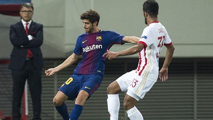 Барселона вскором времени хочет подписать новый договор сСерхи Роберто
