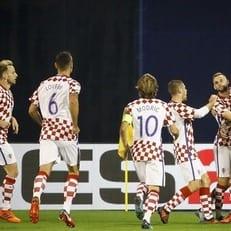 Хорватия в домашнем матче разгромила греков