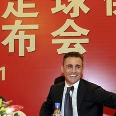 Каннаваро - лучший тренер чемпионата Китая в 2017 году