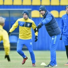 В сборной Украины дебютировали четверо новичков