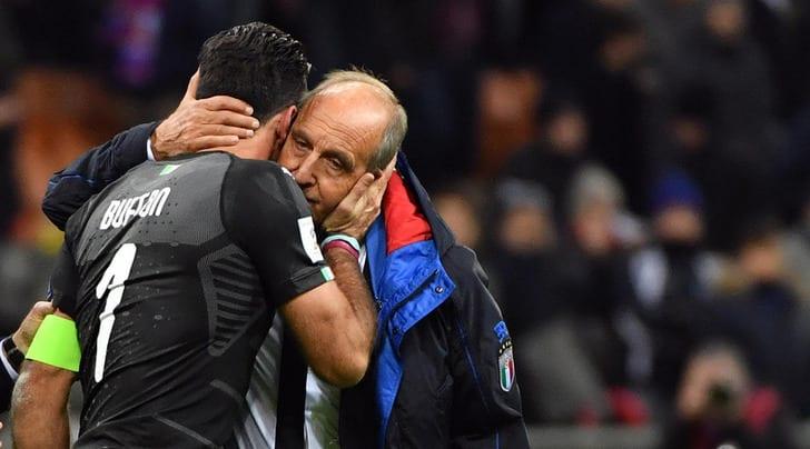 Джанлуиджи Буффон завершил карьеру всборной Италии