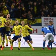 Италия - Швеция: стартовые составы