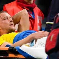 Якоб Юханссон травмировал колено в матче против Италии