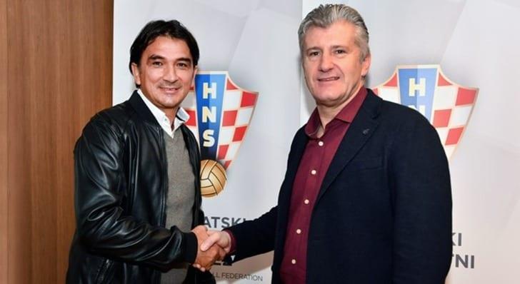 Златко Далич (слева), фото: hns-cff.hr