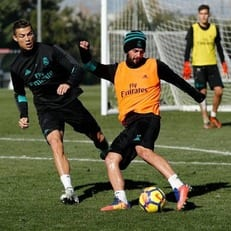 Иско, Модрич и Ковачич тренируются в общей группе