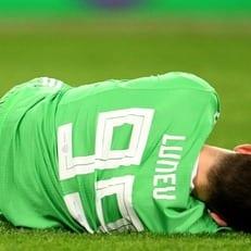 Лунев получил травму головы