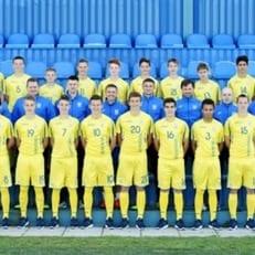 Сборная Украины U-16 обыграла сверстников из Бельгии