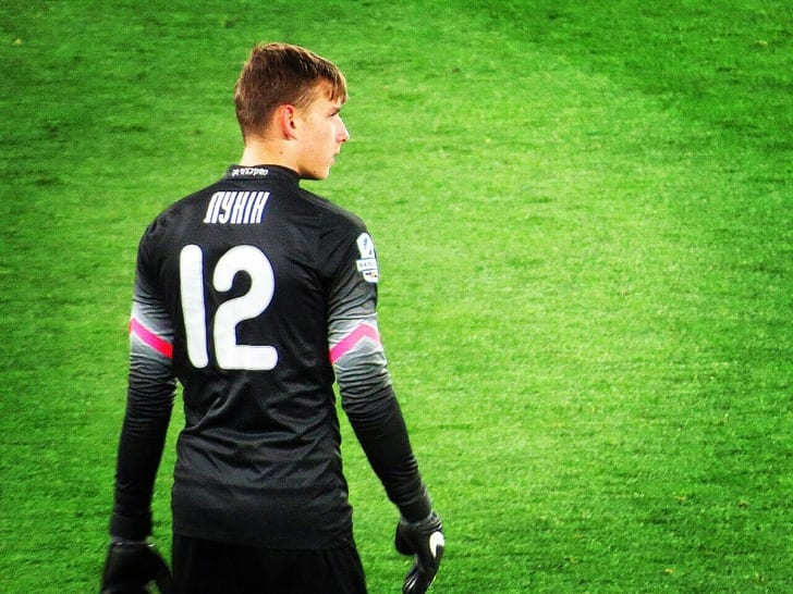 "Андрей Лунин (ФК ""Заря""), фото: 112.ua"