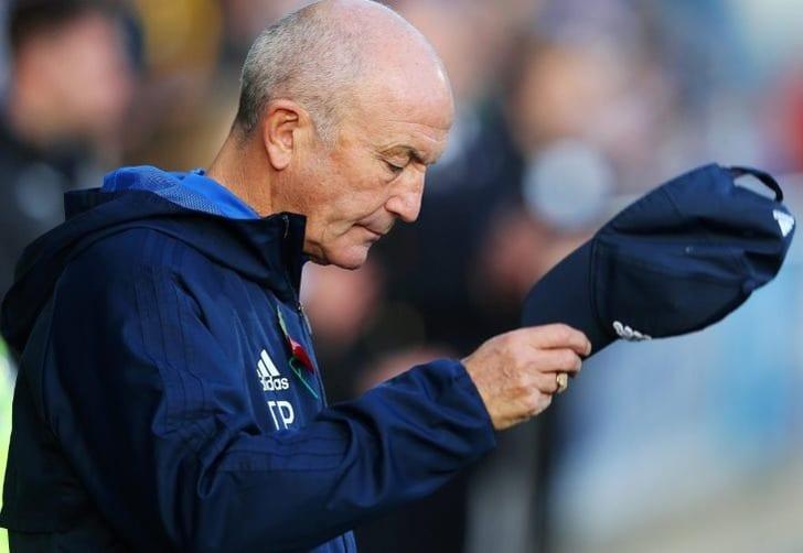 Тони Пьюлис уволен споста основного тренера «Вест Бромвич Альбиона»