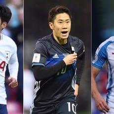 Муй, Кагава и Сон претендуют на звание лучшего игрока Азии