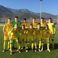 Украина U-16 уступила Португалии