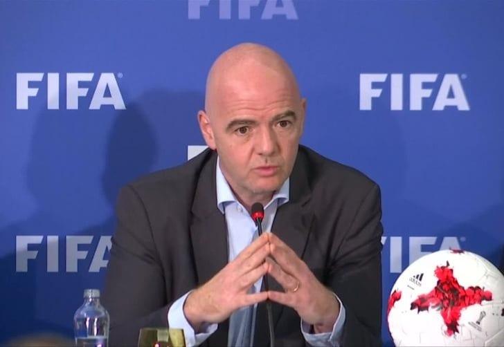 Президент ФИФА Джанни Инфантино, Sky Sports