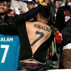 Поклонник Роналду сделал себе необычное тату