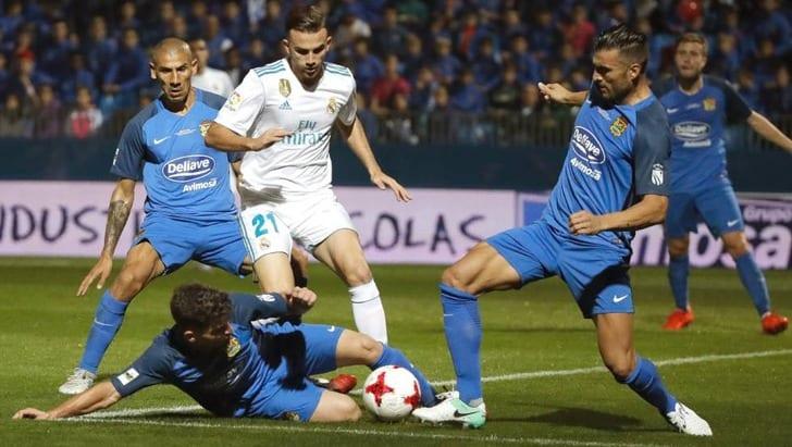 «Реал» не смог обыграть «Фуэнлабраду», однако вышел в1/8 финала Кубка Испании