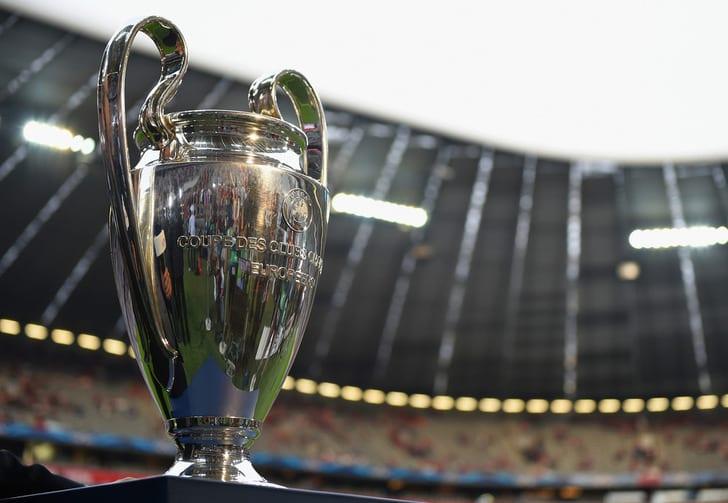 Матчи Лиги чемпионов будут начинаться в 20:00 и 22:00